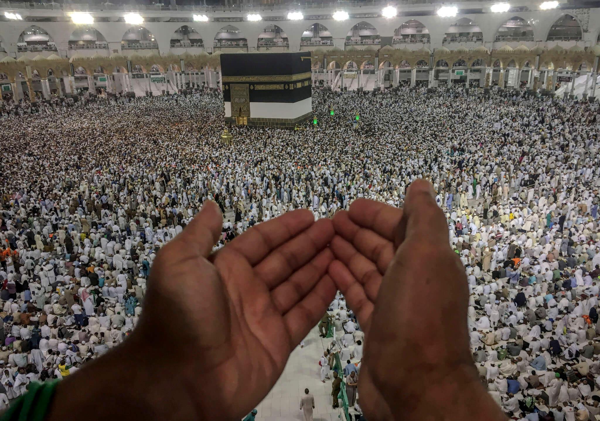 Cita en el lugar más sagrado del islam