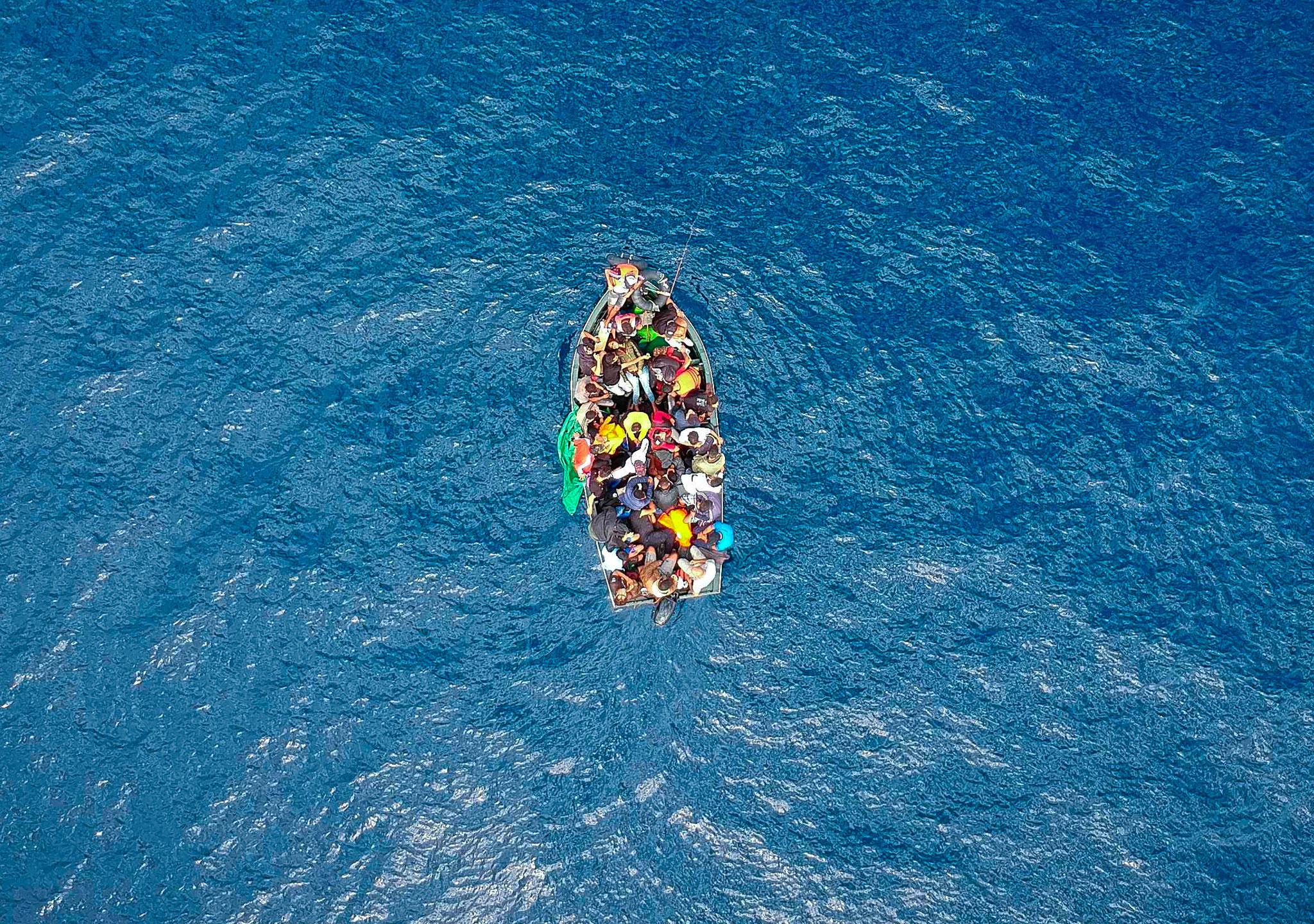 Drástico descenso de la llegada de inmigrantes a Europa