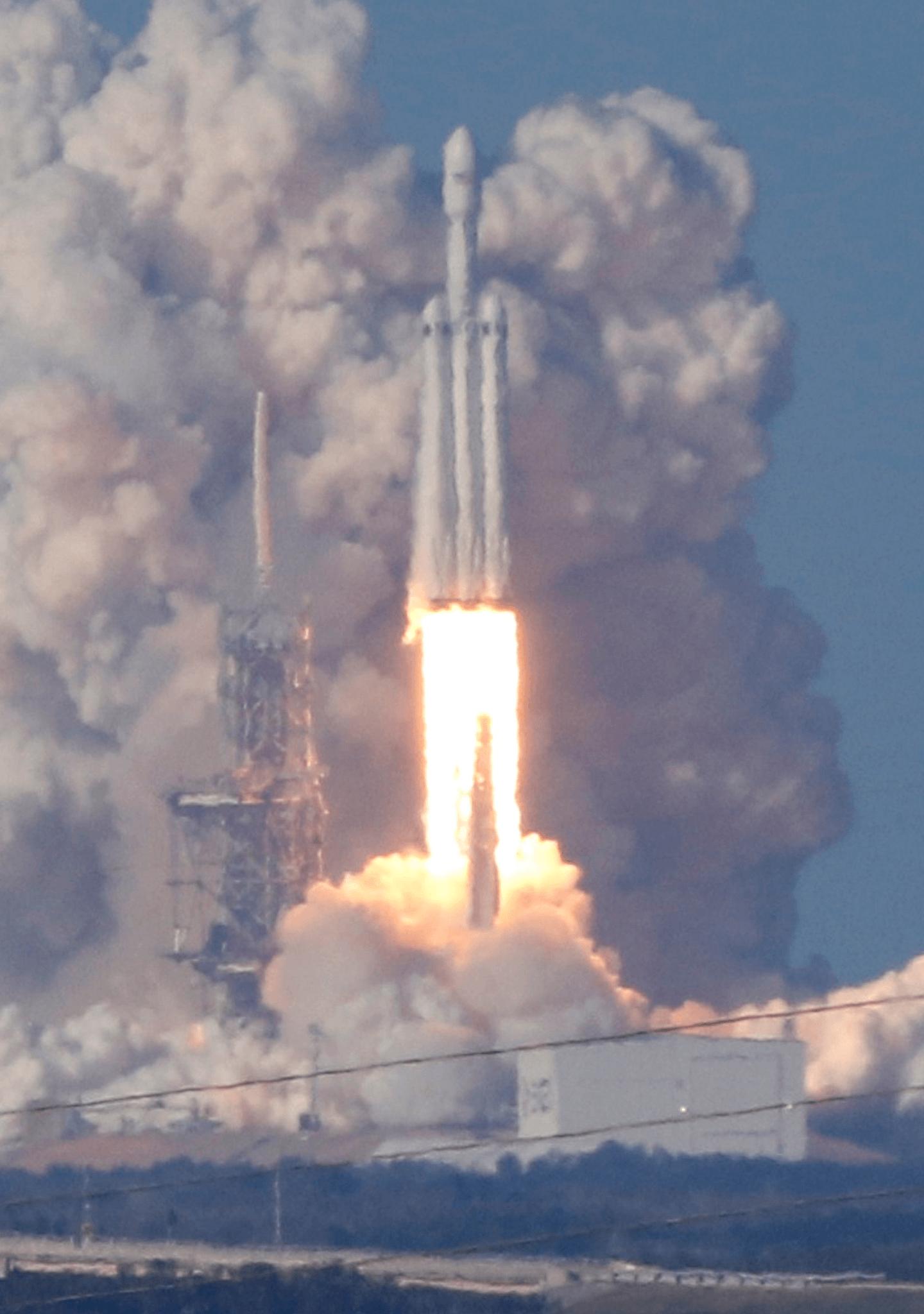 El cohete más potente del mundo