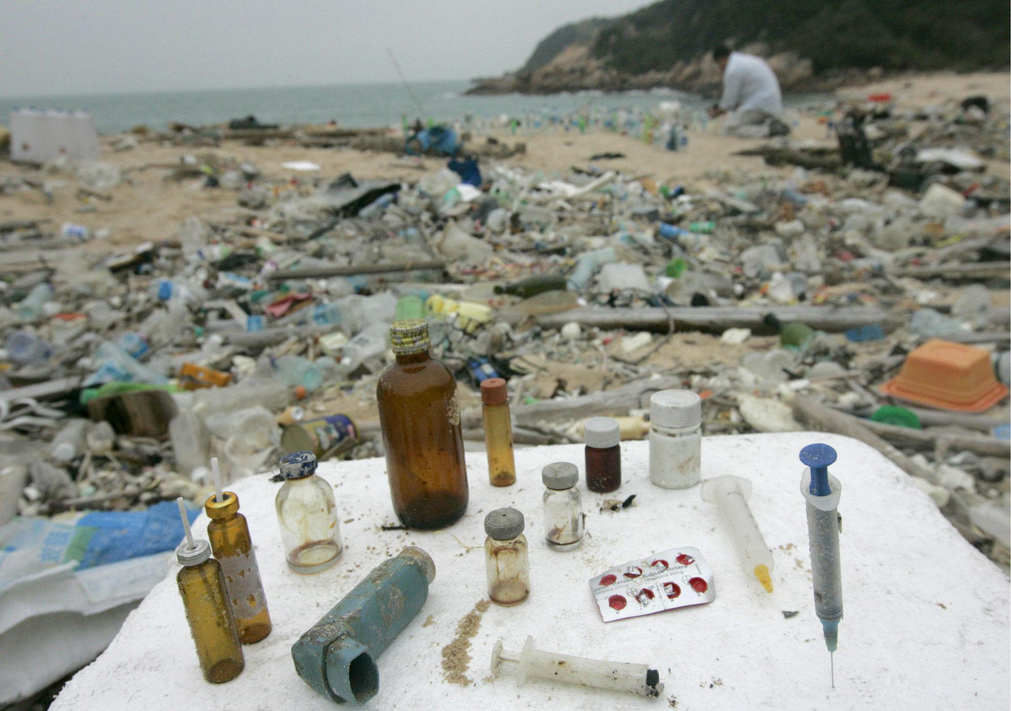 Todo nuestro plástico, en el mar